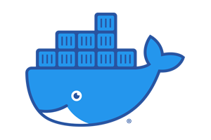 Frankie Dog Hosting - Docker Logo